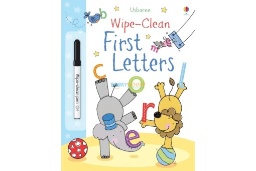 Wipe Clean First Letters 9781409524502 cover