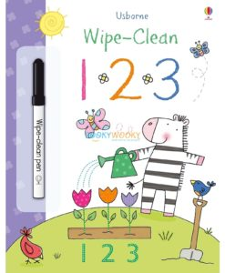 Wipe Clean First Numbers 9781409564799 cover