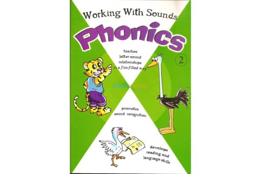 Working with Sounds Phonics 2 9788184994087 cover