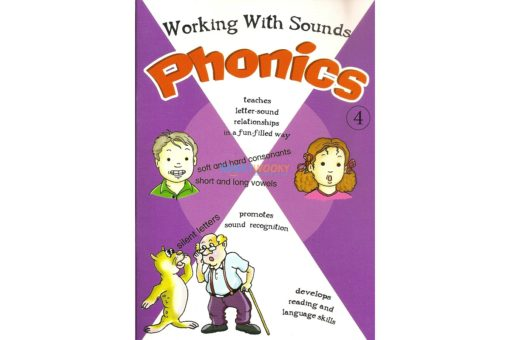 Working with Sounds Phonics 4 9788184994100 cover
