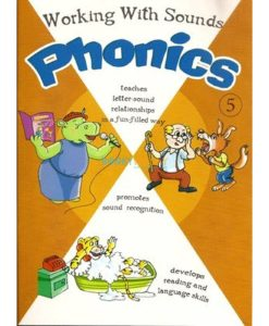 Working with Sounds Phonics 5 9788184994117 cover
