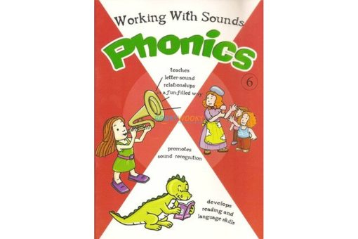 Working with Sounds Phonics 6 9788184994124 cover