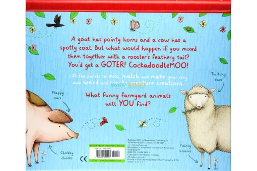 Farm Animals - A Mix and Match Book back cover