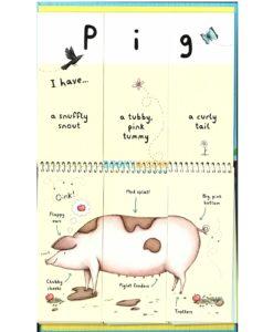 Farm Animals - A Mix and Match Book inside1
