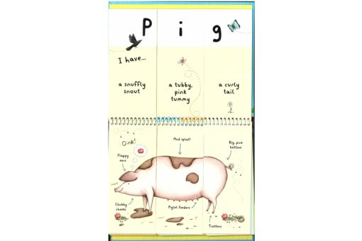 Farm Animals - A Mix and Match Book inside1