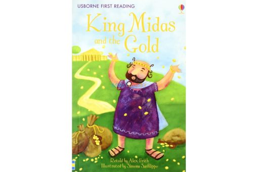 King Midas and the Gold 9781409501084 cover