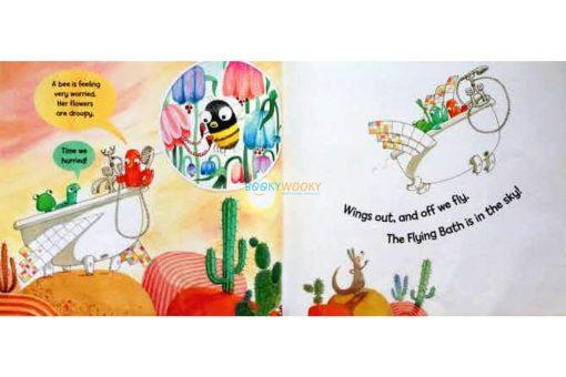 The Flying Bath Julia Donaldson hardcover inside2