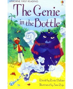 The Genie in the Bottle 9781409500704 cover