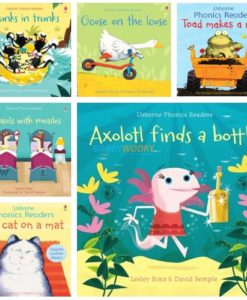 Usborne Phonics Readers collage