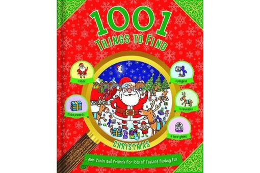1001 Things to Find Christmas 9781788103947 cover