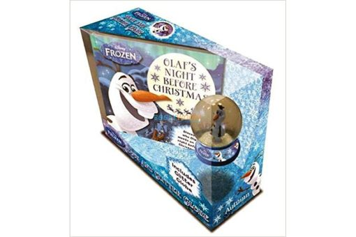Disney Frozen Olafs Night Before Christmas (with Glitter Globe) 9781789055603