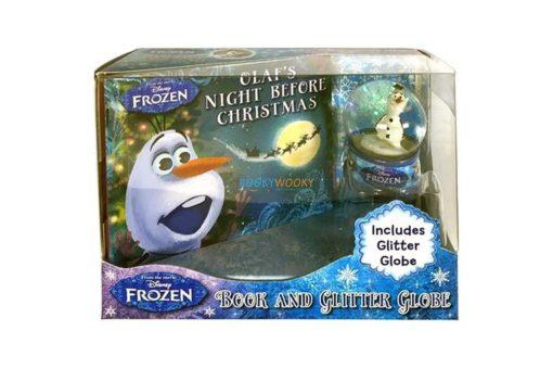 Disney Frozen Olafs Night Before Christmas (with Glitter Globe) 9781789055603 box