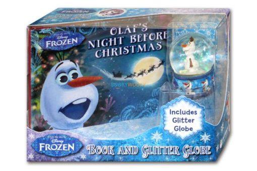 Disney Frozen Olafs Night Before Christmas (with Glitter Globe) 9781789055603 box2