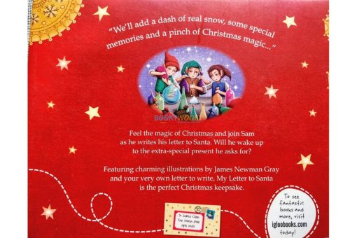 My Letter to Santa 9781785577116 back cover