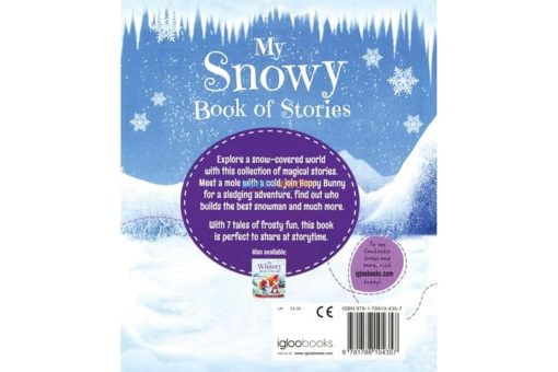 My Snowy Book of stories 9781788104357 back cover