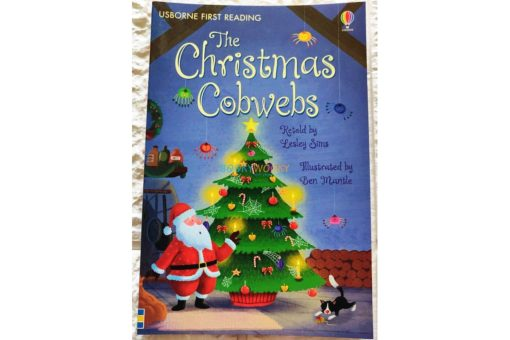 The Christmas Cobwebs - Usborne first reading Level 2 9781474904209 cover