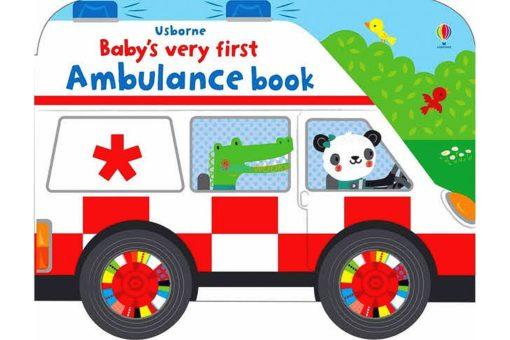Baby's Very First Ambulance Book with Wheels 9781474981118(1)