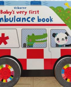 Baby's Very First Ambulance Book with Wheels 9781474981118(7)