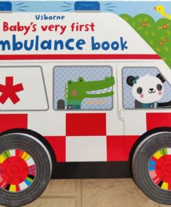 Baby's Very First Ambulance Book with Wheels 9781474981118(8)