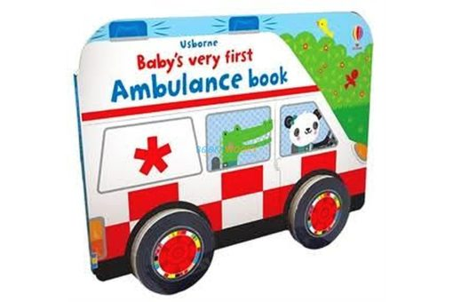 Baby's Very First Ambulance Book with Wheels 9781474981118(9)