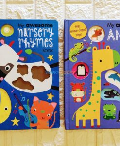 My Awesome Nursery Rhymes and Animal book