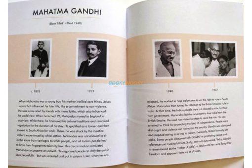 Mahatma Gandhi Little People Big Dreams 9780711248687 (3)