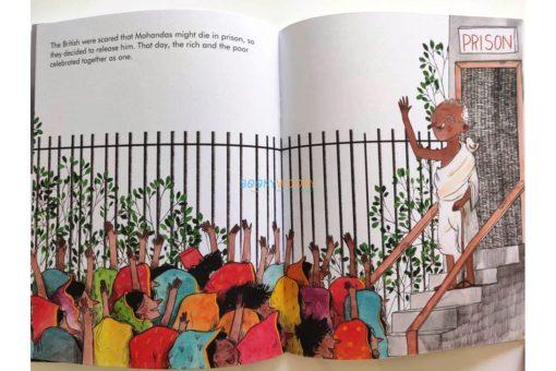 Mahatma Gandhi Little People Big Dreams 9780711248687 (8)
