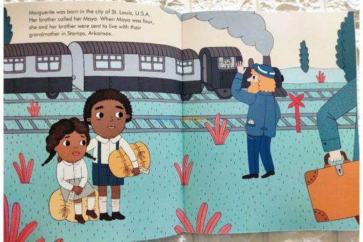 Maya Angelou Little People Big Dreams 9780711248700 (2)