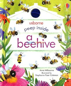 Peep Inside a Beehive 9781474978477 cover