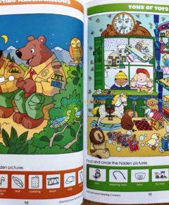 Big Hidden Pictures (4) School Zone workbook