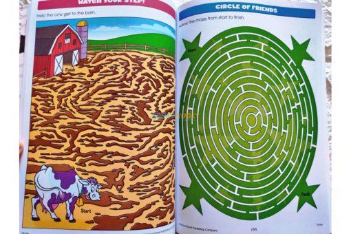 Big Hidden Pictures (5) School Zone workbook