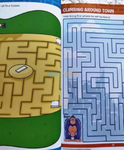 Big Mazes and more (3) School Zone Workbook