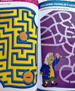 Big Mazes and more (4) School Zone Workbook