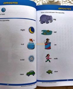 Giant First Grade (4) School Zone workbook