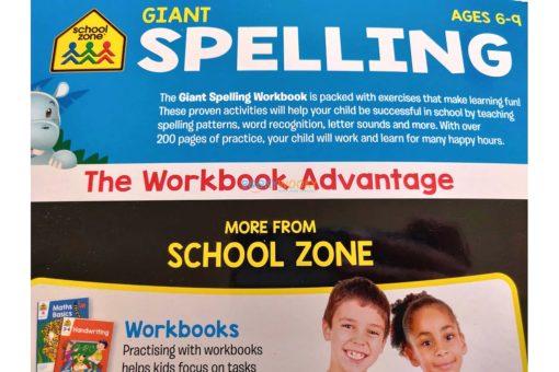 School Zone Giant Spelling (10)
