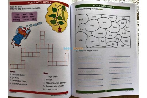 Giant Spelling (5) School Zone workbook