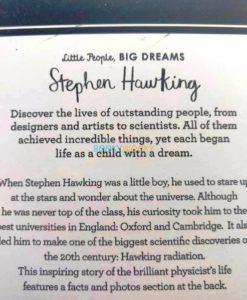 Stephen Hawking Little People Big Dreams 9780711248731 (2)