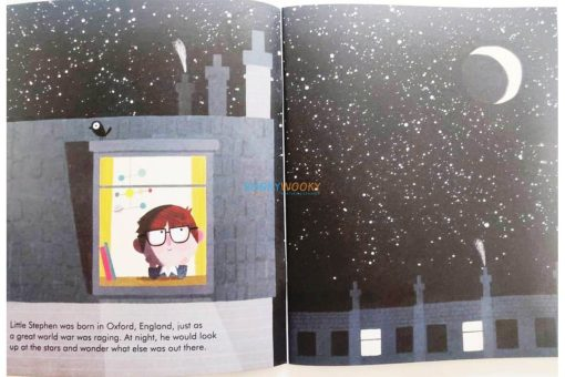 Stephen Hawking Little People Big Dreams 9780711248731 (7)