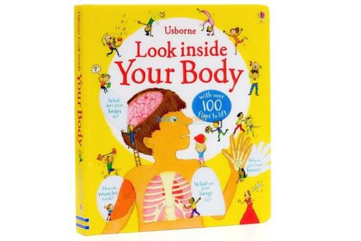 Look Inside your Body Usborne 100 flaps cover2