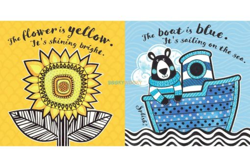 The Boat is Blue - Baby's First Book of Colours 9781912233540 inside1