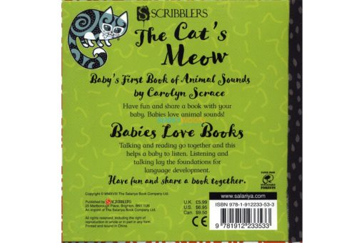 The Cat's Meow - Baby's First Book of Animal Sounds 9781912233533 (2)