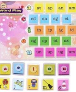 Phonics Worksheets with Craft Material CVC Words - Level 1 (1)