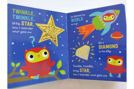Bedtime Rhymes Twinkle, Twinkle Little Star (Touch And Feel) (3)