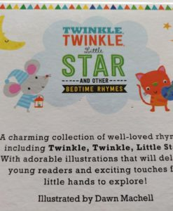 Bedtime Rhymes Twinkle, Twinkle Little Star (Touch And Feel) (6)
