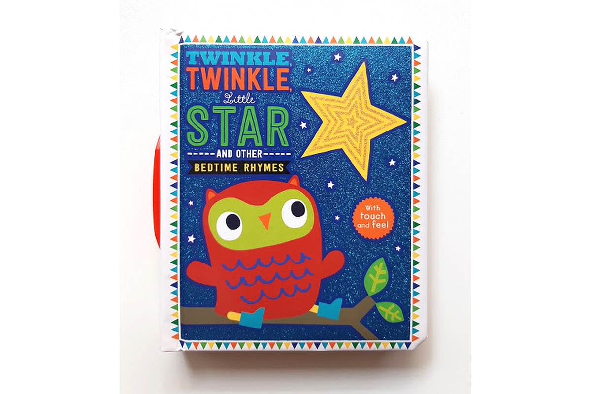 Bedtime Rhymes Twinkle, Twinkle Little Star (Touch And Feel) cover