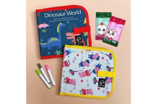 Chalk Pen blackboard book - Dinosaurs
