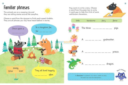 Comprehension Workbook Age 5 to 6