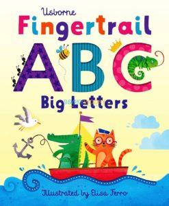 Fingertrail ABC Big Letters Usborne 9781474986625