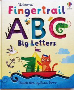 Fingertrail ABC Big Letters Usborne