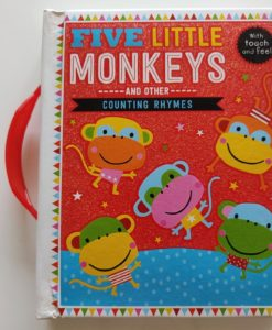 Five Little Monkeys and Other Counting Rhymes Touch and Feel (1)